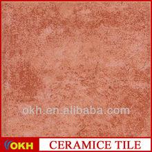 Dark red stone floor slab and tile