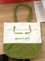 recyclable shopping canvas cotton canvas tote bag