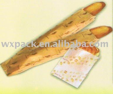 Manufacturer!Kraft paper bag for bread