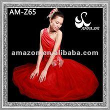 ANNA SHI 2012 red dancewear ballet dance wear for kids and adults