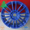 Blue Replica Wheels for cars