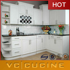 European fashion antique white kitchen cabinets