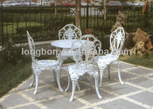 Top-selling welded metal table and chairs for garden