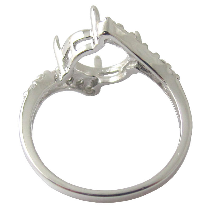 beadsnice id 27337 925 sterling silver ring setting