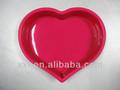 büyük boy kalp şeklinde silikon kek kalıbı