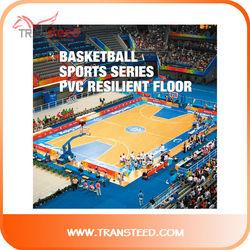 long life at low cost basketball flooring