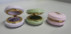 2014 Decorative Customized Jewelry Macaron Resin Trinket Box