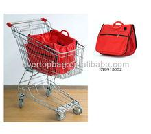 The Cheapest Supermarket folding shopping cart promotional bag