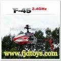 2.4 G 4CH lame simple F45 rc MJX hélicoptère