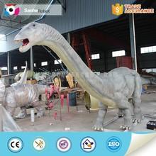 Amusement park playground handmade dinosaur
