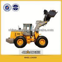 loaders lift capacity JinGong New products, (JGM755J-III )5t wheel loader with quick shift equipment