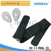 Sunmas SM9065 mini electronic pulse slimming spiral vibration slimming belt massager
