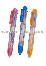 Mini plastic 4 color ballpen