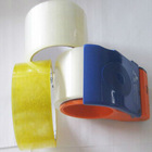 transparent/clear BOPP adhesive tape made of BOPP film and coated with acrylic and hotmelt with various sizes and colors