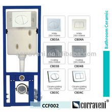 sanitary ware concealed cistern for ceramic wall hung toilet CCF002