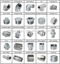 stainless steel pipe fitting elbow, tee, cross, union, nipple, coupling, reducer