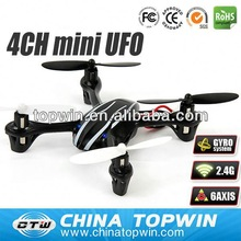 2.4G 4CH mini UFO with 6 axis gyro [REH67385] rc quadcopter diy frame