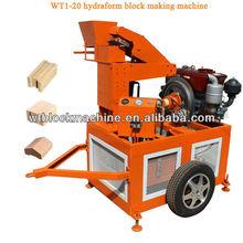 WT1-20 soil and earth brick machine
