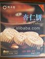 Mini delicioso pastel de almendra, galletas de almendra, galletas de almendra