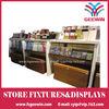 wood display rack MDF rack for stores