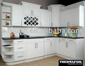 Moldado moderno do armário de cozinha design( madein china)
