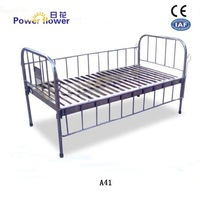 All stainless stell flat bed for children