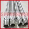 male thread stainless steel braided metal hose