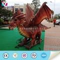 Modèle de la faune robotisée. dragon, aire de jeux extérieure
