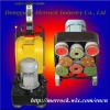 High speed concrete buffing machine