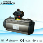 AT structure double acting pneumatic actuator