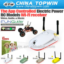 5g 2.4g wifi Controlled Electric Power RC Models Wi-Fi receiver Video, Audio, & Music accessories FUNGUIDER[CTW-022] auto plasti