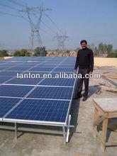 5KW energia Solar para eletricidade, 10KW grade livre energia Solar / modelo de trabalho de energia Solar