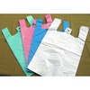 T shirt plastic bag for supermarket ,handle plastic bag