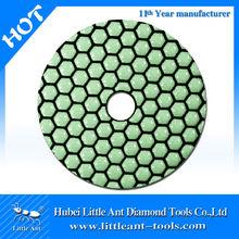 diamond granite dry polishing pad
