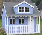 wooden kids play house PH005