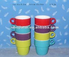 Ice Cream Glazing Ceramic Cup