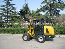 HONGYUAN Mini wheel loader ZL08B with CE certificate