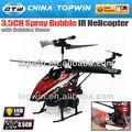 3.5chir spray bolha helicóptero reh66v757 cabeça do rotor principal de helicóptero do rc
