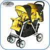 easy fold light weight twin stroller