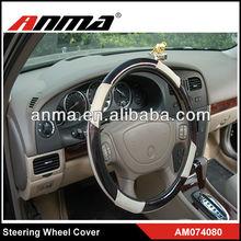 Plastic steering wheel covers black