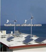 5kw Off Grid Hybrid Solar Wind System/ 3kw Wind Turbine And 1600W Solar Panel