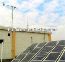solar panel system Hybrid Solar Wind Power Generation System wind and solar system home power
