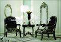 Di alta qualità sedia in legno antico a foshan/foshan pranzo yj-b2025 tessuto poltrona di legno