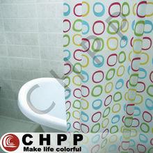 Fashion Peva Printed Shower Curtain