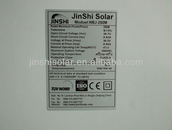 hot sale solar panel 250w for home solar system/solar energy product