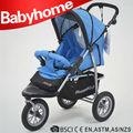 2014 EN1888 estándar, CE aprobado / tres ruedas / buen cochecito de bebé