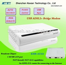 High speed USB Broadband ADSL Modem Router