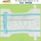 Princess PP tape,leak guard,colored PE film disposable baby diaper