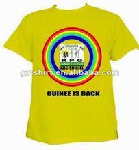 campaign print cotton t-shirt