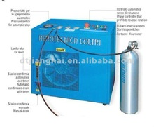 High pressure compressors for pure breathing air